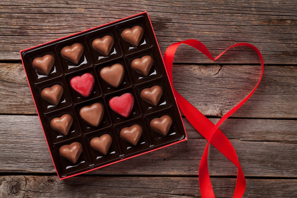 valentine's day healthy chocolate